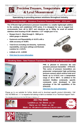 Download our Product Newsletters
