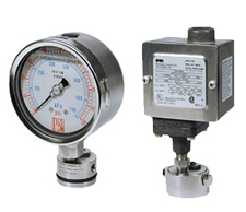 Flush-Mount Seal Gauges and Switches