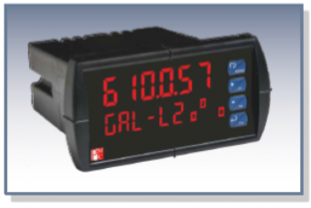 Dual-Line Six-Digit Process Meter